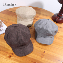 Summer Female Beret Fashion Artist Women Cap Woman Girl Flat Cabbie Newsboy Warm Hat Casual Chapeu hats Boina Vintage Style hat
