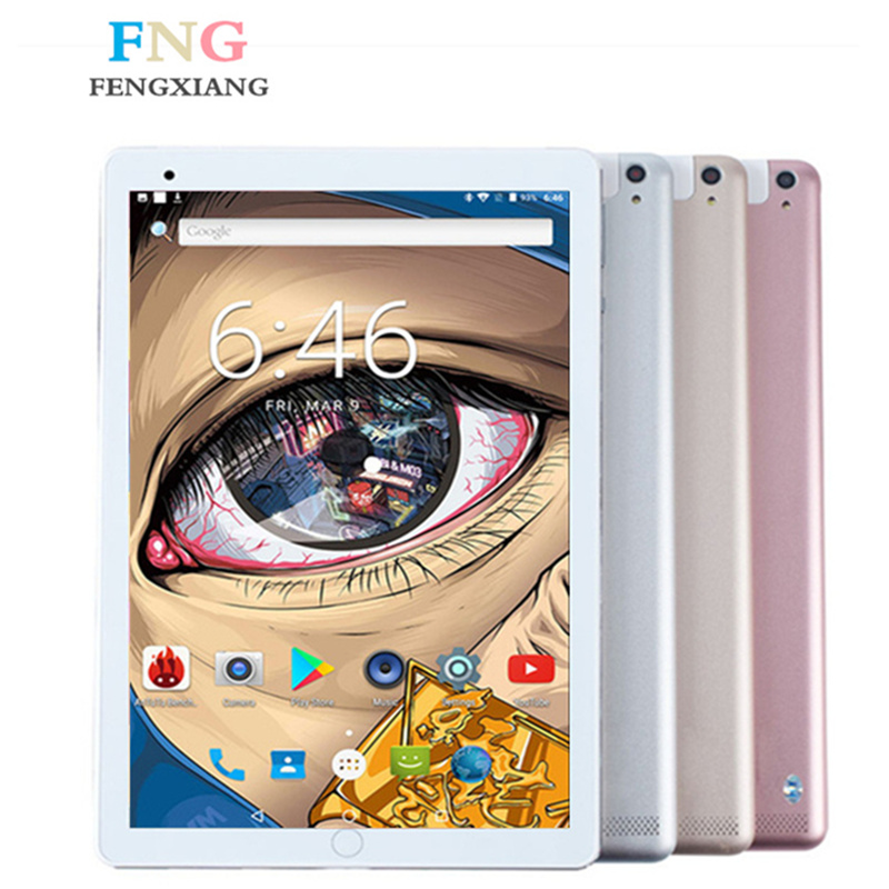 9.7 Inch 3G 4G LTE Tablet Pc Android 7.0 Octa Core 4GB+64GB 1920*1200 IPS Dual SIM Card WIFI Bluetooth Smart Tablets 10.1 7 8 9