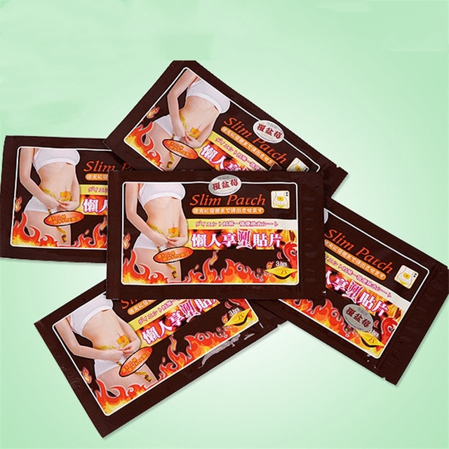 10 PCS Slimming Stick Slimming Navel Sticker Slim Patch FAST Weight Loss Burning Fat Patch medical plaster
