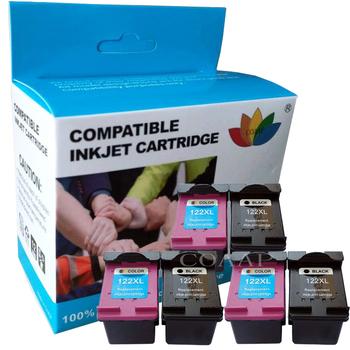 Napełnić pojemnik z kartridż do hp 122 122XL dla Deskjet 2540 4500 2600 5530 2620 4630 4500 5530 1000 2000 2050 3000 3050A tanie i dobre opinie COAAP Pełna Kompatybilny Wkład atramentowy HP Inkjet ink cartridge Compatible HP 122 122XL Black Color Deskjet 1000 1050