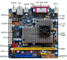 Via Pos Machine Motherboard Pc3000e 17cm Industrial Motherboard Motherboard