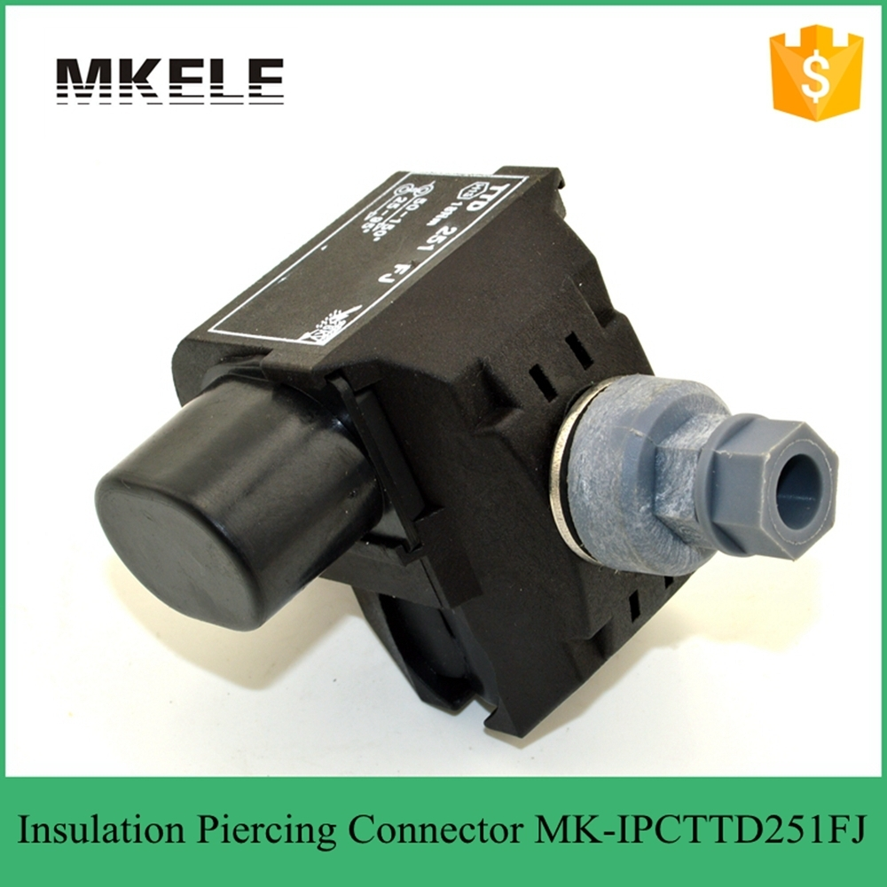 Low voltage waterproof insulation piercing connector/ IPC Insulated ...