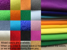 10 meters fleece fabric mix 23 colors options handmade doll sofa