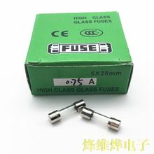 5*20 bezpiecznik szklany 3 15A 250 V skrzynka bezpieczników 1 100 szybkie rozłączenie (2 pudełko 200) tanie tanio Fuse Components
