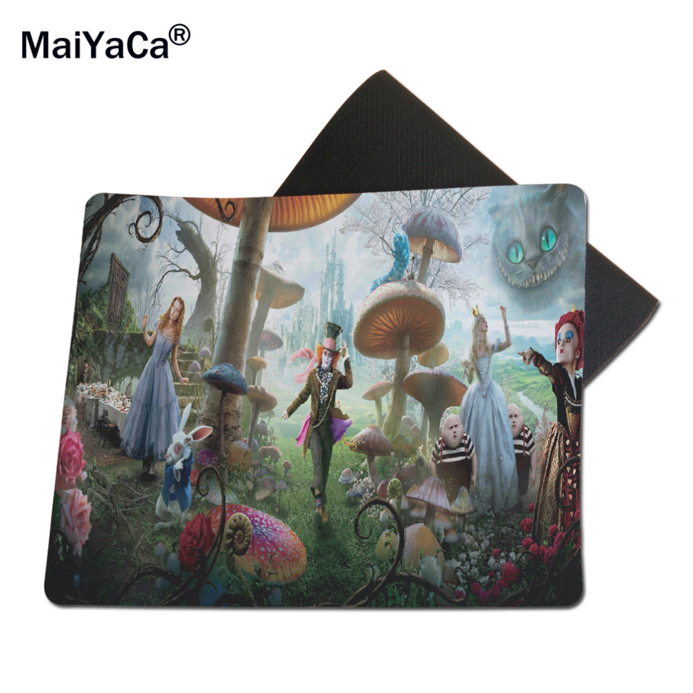 Maiyaca Alice Vonderland Computer And Laptop Mouse Pad Gaming Mice 300 X 250mm Mat 1822cm 2529cm