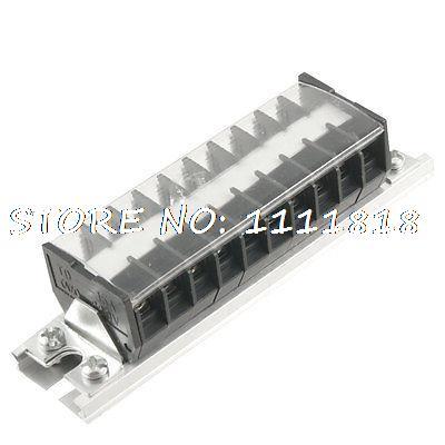 660 V 15A 10 Pozisyon Alüminyum DIN Ray Tabanı Vidalı Terminal Bloğu|Terminal Blokları|Ev Dekorasyonu - title=
