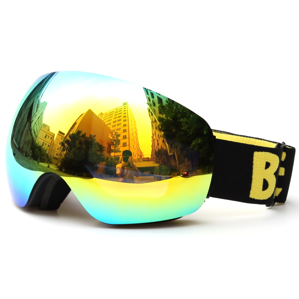 Outdoor Riding Glasses Windproof Mirror Goggles Ski Eye Protector Eyesglasses Cross-Border Benice Ski Goggles Adult Large Box Sp