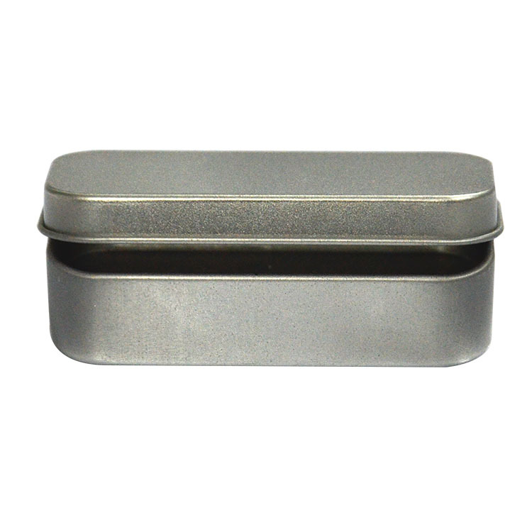 20pcs Silver Metal Hinge Top Tin Containers For Crafts Geocache Storage  Survival Kit, 80*38*20mm In Storage Boxes U0026 Bins From Home U0026 Garden On ...