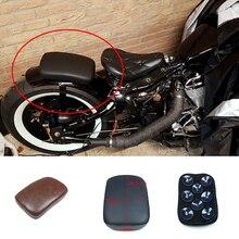 Для Harley/Dyna/Sportster/Softail Touring Мотоциклетная задняя Пассажирская подушка на заднем сиденье с присосками