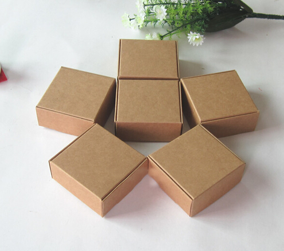 Size 4 4 2 5cm Small Craft Box For Handmade Soap Packaging