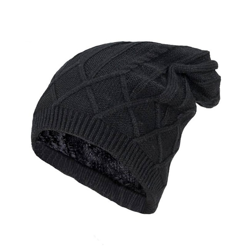 276d70e1da408 Winter skiing Beanies Knitted Hat Men s Winter Hats For Women Men Caps  Gorros Warm Moto Fur Winter Beanie Fleece Knit Bonnet Hat-in Skullies    Beanies from ...