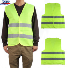 Vest Clothing Traffic Motorcycle Night Rider GREEN Safety Security Visibility Reflective Cycling Outdoor Sports