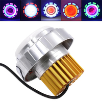 Universal Auto Car Lights Led 12v Built In Double Aperture Modified Car Headlight Burst Flash Car