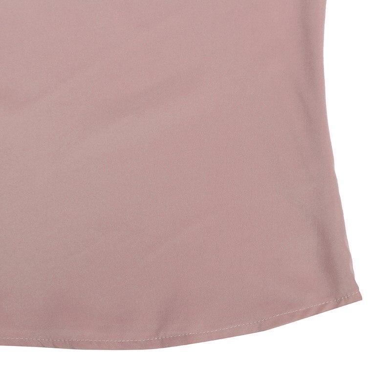 Zanzea kobiety bluzki koszule 2017 jesień eleganckie panie o-neck falbanką długim rękawem stałe blusas casual loose tops 23