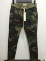 KOM new S-2XL urban brand-clothing chinos kanye west camo camouflage trousers joggers men fog cargo side zipper pants