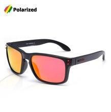 6ed3db48237ae JackJad 2019 Novo Estilo de Moda Holbrook Polarizada Óculos de Sol Óculos de  Esportes Ao Ar