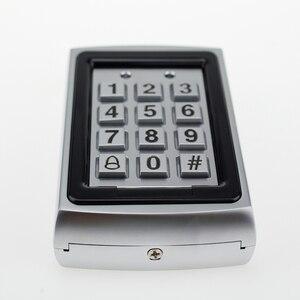 Image 4 - Kim loại RFID Truy Cập Bàn Phím Điều Khiển 125 Khz Độc Lập Bộ Điều Khiển Truy Cập có Vỏ Chống Nước + 10 chiếc Keyfobs Thẻ RFID