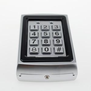 Image 4 - 金属 Rfid のアクセスコントロールキーパッド 125 125khz のスタンドアロンアクセスコントローラ防水カバーケース + 10 個キーフォブ RFID カード