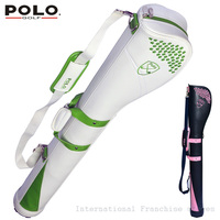 POLO Authentic Golf Horseshoe Gun Bags Men Golf Nylon Rubber Ball Bags Club Small Golf Bag