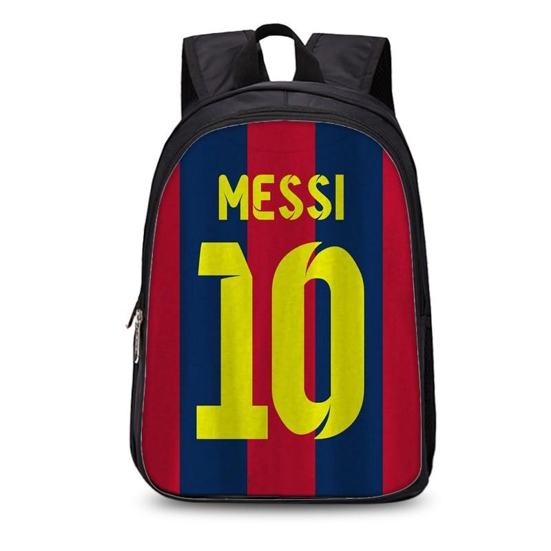 New #10 Logo Messi Barcelona Backpack Bag Men Travel Shoulder Bag Gift Kids Bagpacks Mochila Teenage Backpacks Boy Schoolbag