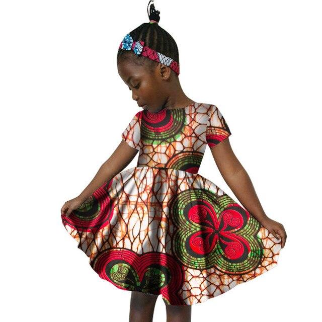 African Dresses For Girls New O Neck Casual Evening Dresses Ankara