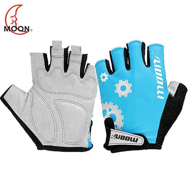 Moon bicycle gloves road bike ride short semi-finger breathable ride gloves