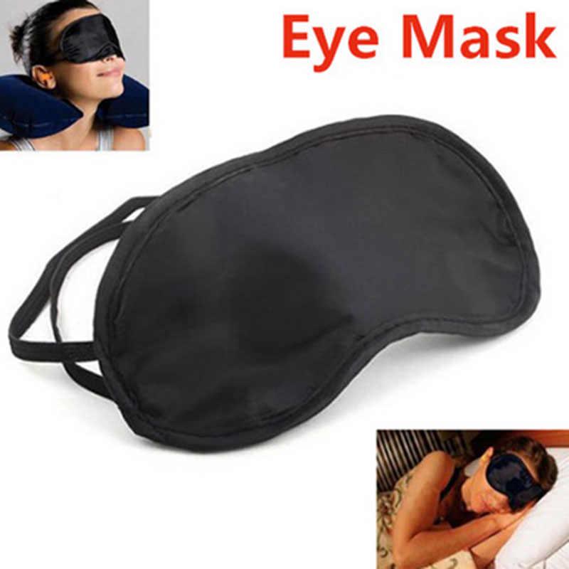1 ADET Seyahat Uyku Istirahat Uyku Yardım Maskesi göz bandı Kapağı Konfor Körü Körüne Kalkan