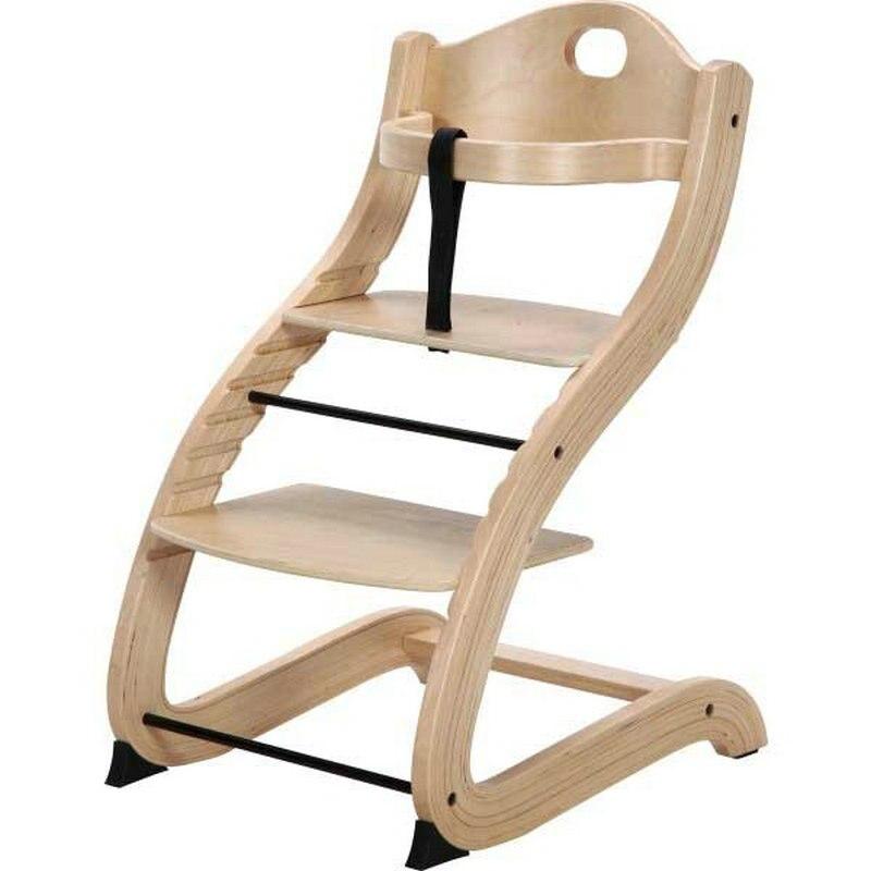 Primo продукты уютное Tot To Teen стул, регулируемый высокий стул, детское обеденное сиденье, натуральное Березовое дерево детское кормовое кресло