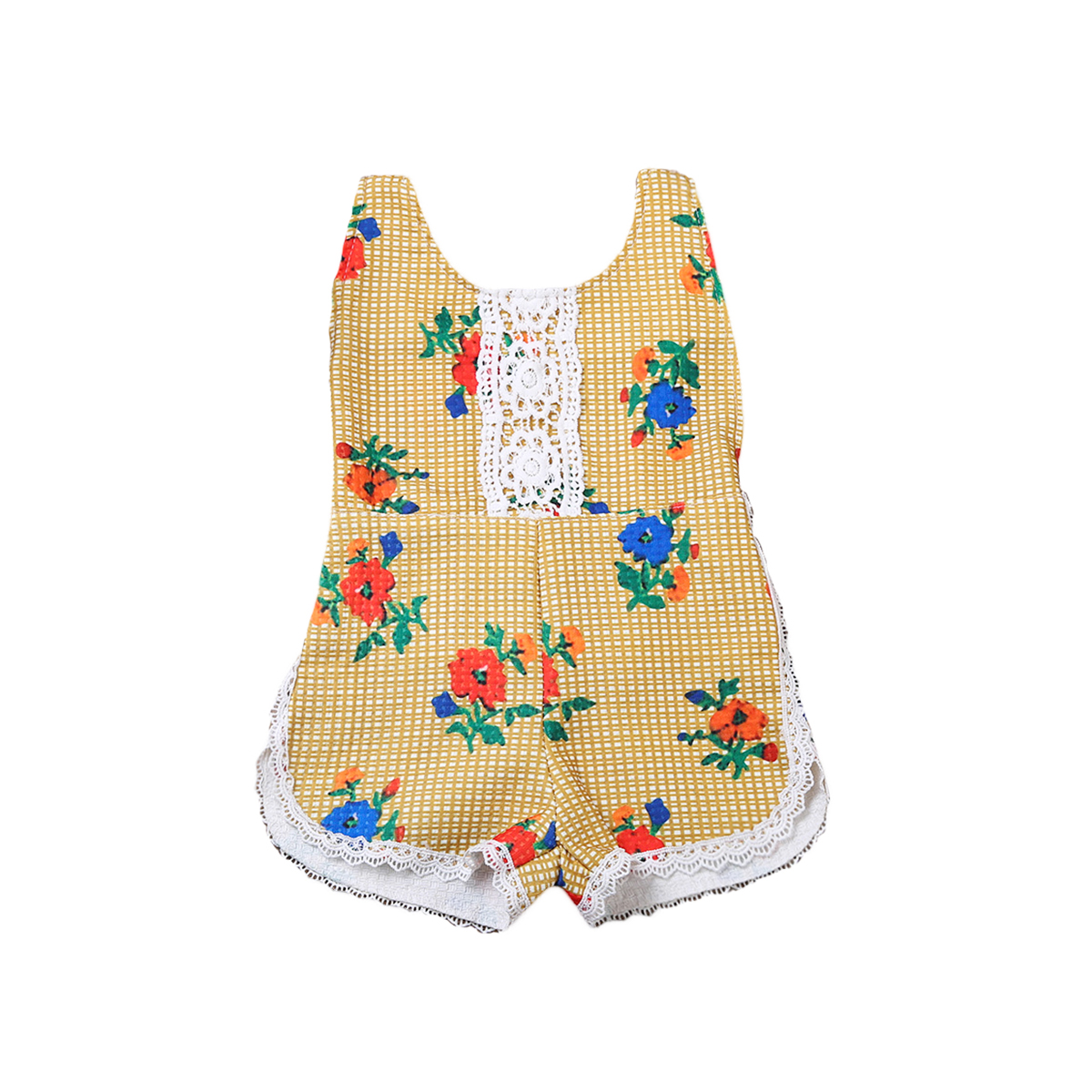 Toddler Newborn Infant Baby Girl Floral Romper Jumpsuit Outfits Summer Baby Girl Clothes Sunsuit Cotton Baby Onesie Outfit newborn infant baby clothes girl floral strap lace romper jumpsuit playsuit outfit cute summer baby romper onesie