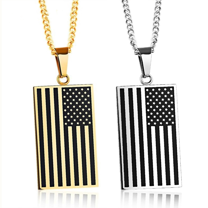 copy mama steel necklace american oil of stainless naturally essential flag products