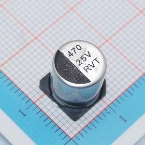 Image 5 - MCIGICM 500 pièces 470UF 25V 10mm * 10.2mm condensateur électrolytique en aluminium SMD