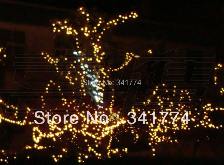 20m 160 RGB LED String Lights New Year Christmas Tree Curtain Garland Home Garden Wedding Luminaria Decorative Outdoor Lighting
