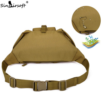 SINAIRSOFT Tactical Molle Bag Waterproof Waist Fanny Pack Hiking Fishing Sports Hunting Waist Bags Camping Sport Bag Belt 1