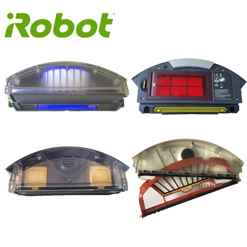IRobot Roomba 500 Série 600 Aero Vac Filtro Aerovac bin Bin caixa de Poeira collecter 510 520 530 535 540 536 531 620 630 650 700 800