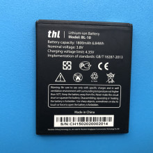 Original Battery for THL BL-10 1800mAh Backup Li-ion BL10 T12 Smartphone Replacement