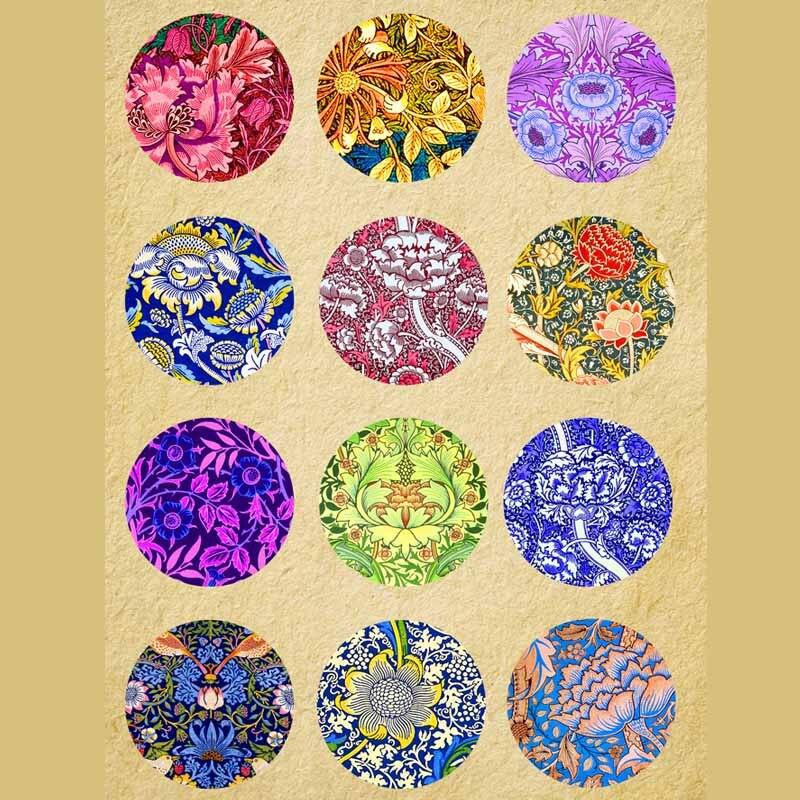 14 мм 12 мм 25 мм 414 12 шт./лот цветок Mix круглый стеклянный кабошон DIY ювелирных изделий Подходит для застежки на кнопке 18 мм Подарочный браслет с брелоками