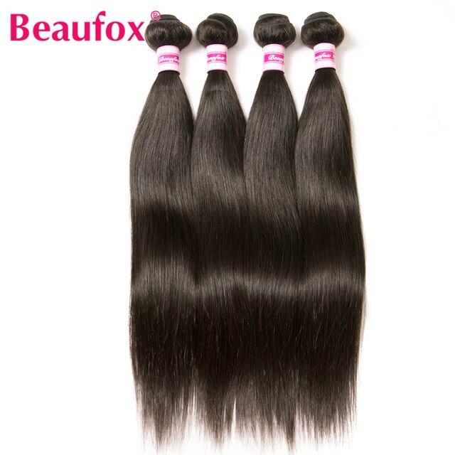 Aliexpress buy beaufox indian straight hair bundles 100 beaufox indian straight hair bundles 100 human hair weave natural black color 8 pmusecretfo Gallery