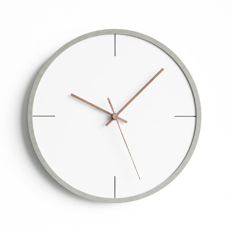 Nordic Clock Creative Fashion Wall Clocks Living Room Home Modern Minimalist Watches Bedroom Personality Mute Hanging Watch