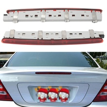 Evrensel LED Kırmızı Arka Kuyruk Fren Dur Açın Sinyal Işık Mercedes W203 C-Class SEDAN 2000-2007 Için