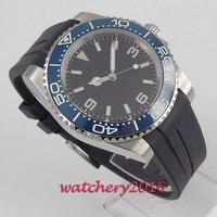 Top Marke Luxus 39mm Bliger Sterile Zifferblatt keramik Lünette leucht Automatische Bewegung herren Uhr-in Mechanische Uhren aus Uhren bei