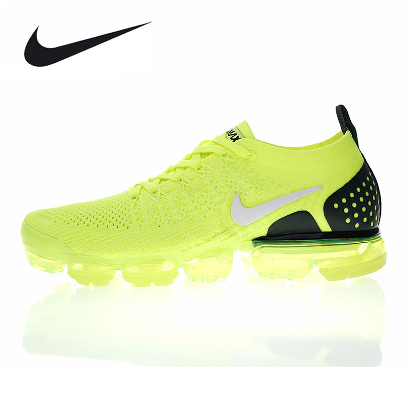 881fd7c692768 canada aliexpress buy nike air vapormax flyknit 2.0 w mens and womens  running shoes yellow shock