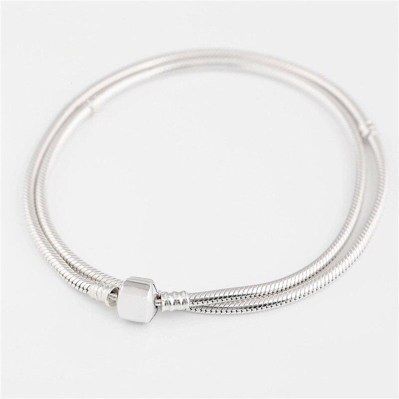 2018 classique marque Signature Moments collier 925 argent Original pour les femmes de mariage fête d'anniversaire cadeau Fine Europe bijoux - 4