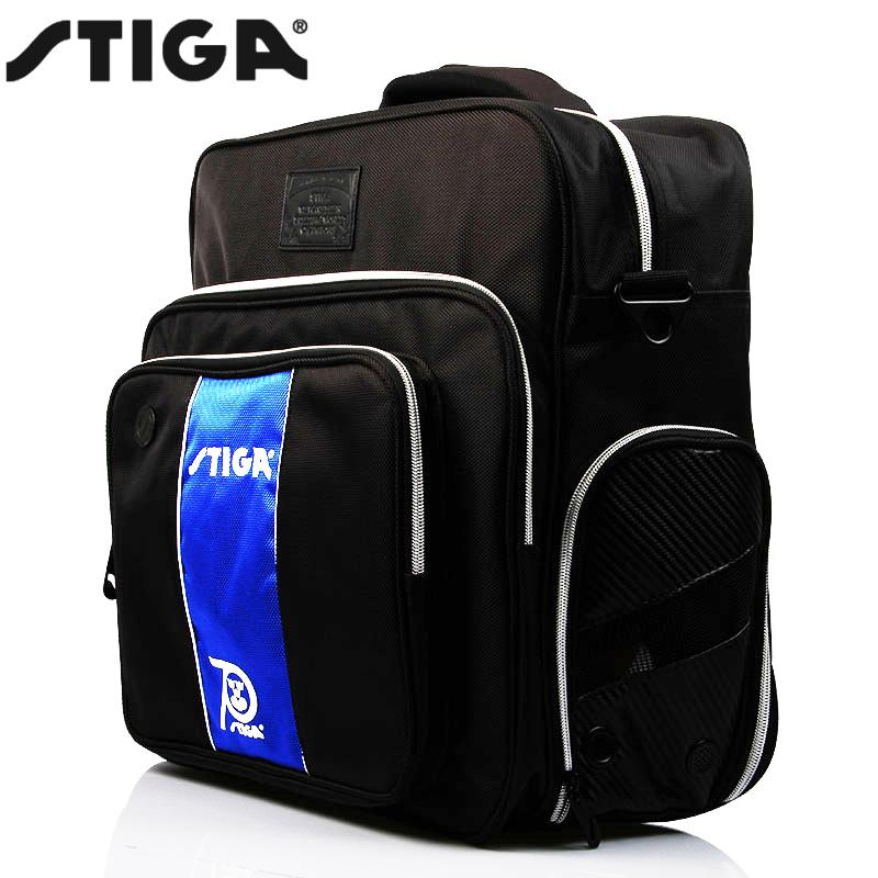 100 original STIGA table tennis sports bag coach bag travel single shoulder Backpack Bags G1409157