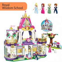 626pcs 2611 Princess Leah Royal Wisdom School Set Rabbit Minifigs figures Building Blocks Toys For Girls Kids Creative Gifts(China)