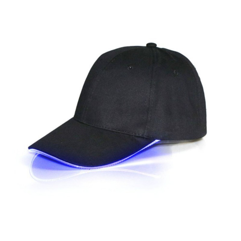 New Design LED Light Up Baseball Caps Glowing Adjustable Hats Perfect for Party Hip-hop Running and More 2