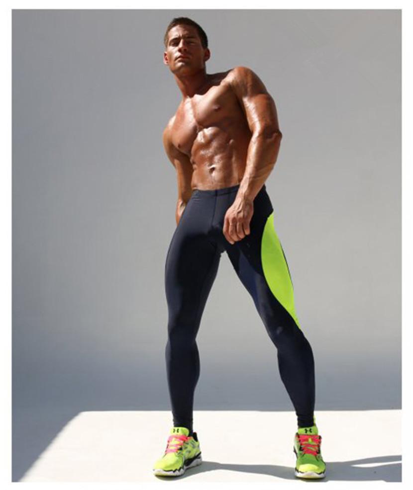 Men's Workout Gym Compression Leggings