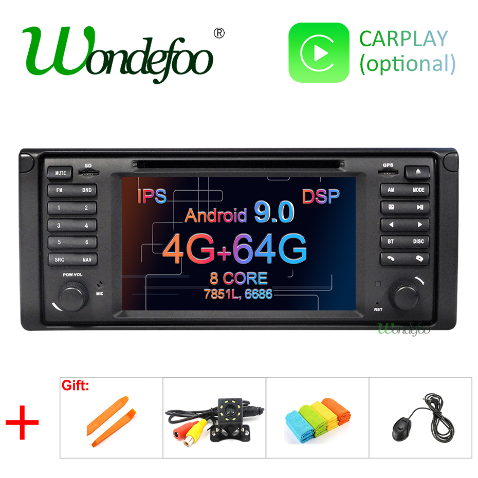 IPS DSP Android 9 0 4G 64G Car DVD PLAYER For BMW X5 E53 E39 GPS