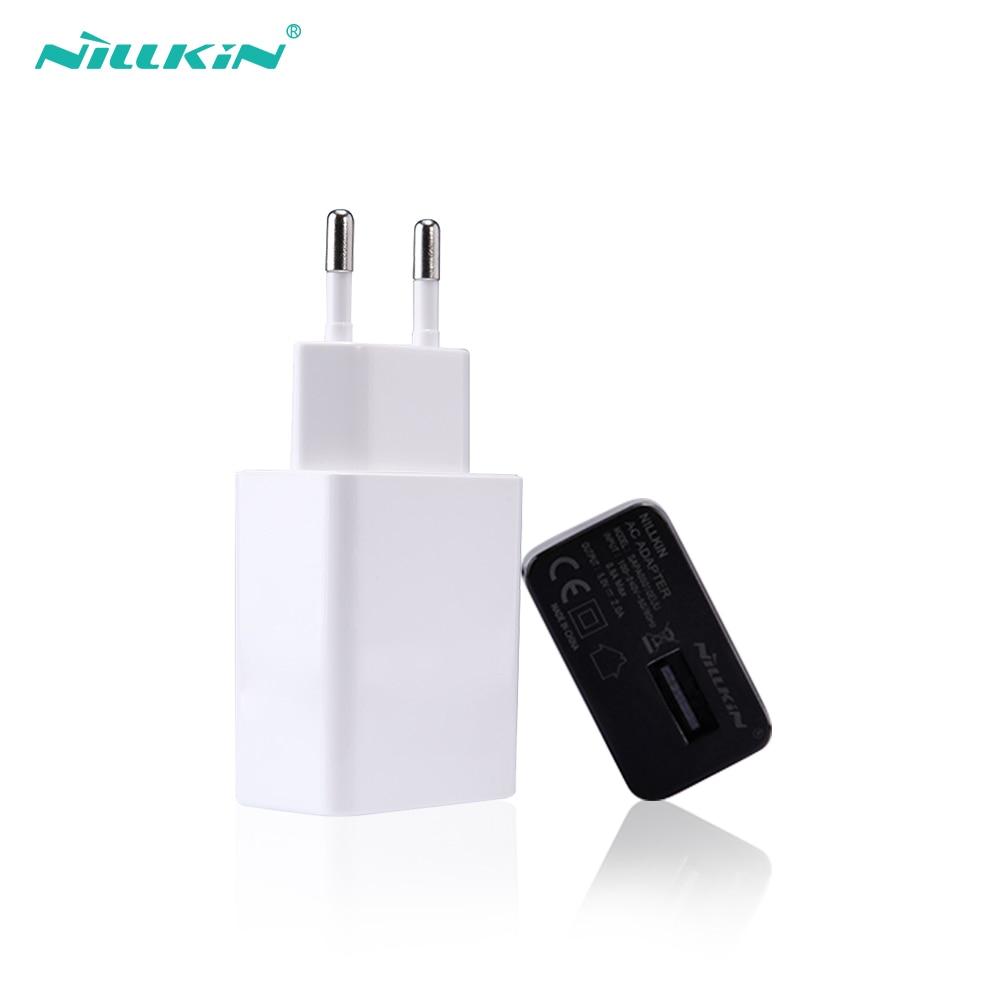 Nillkin EU enchufe usb adaptador, Flash Drive 5V 2A adaptador de pared dispositivo móvil de carga de datos para iPhone para Samsung para xiaomi