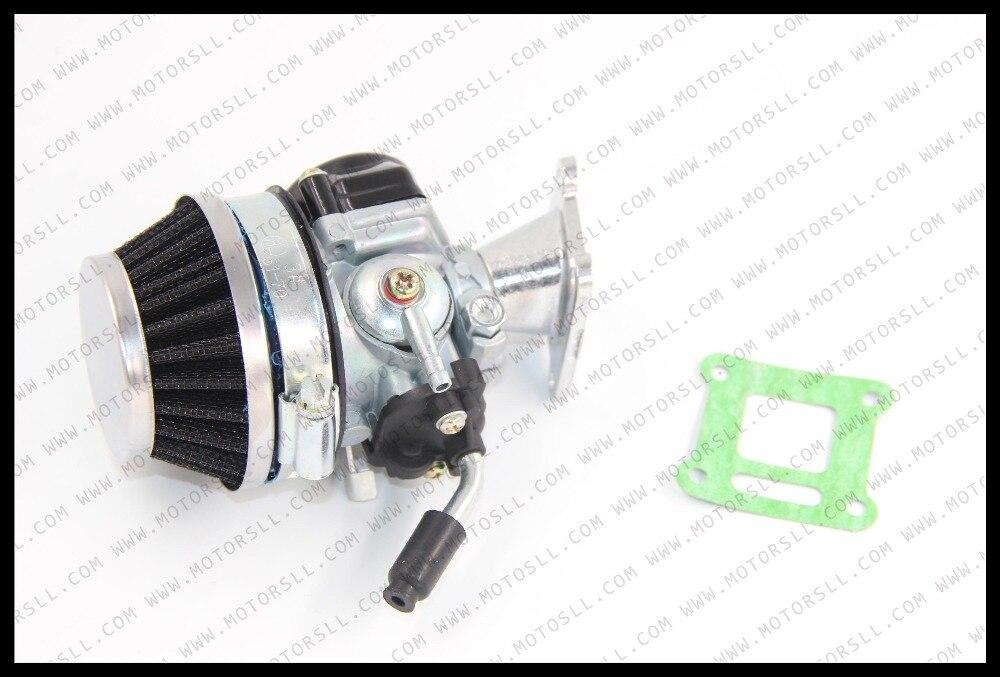 Высокое качество Китай Карбюратор Carb Carby + сталь 60 мм воздушный фильтр + 2 такта 43 47cc49cc Мини Мото Карманный велосипед ATV Quad Minicross