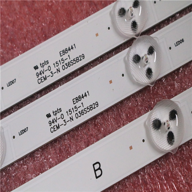 """LED Backlight strip 8 lamp for Sony 32""""TV KDL 32RD303 KDL 32R303C KDL 32R303B 1 889 675 12 IS4S320DNO01 LM41 00091J